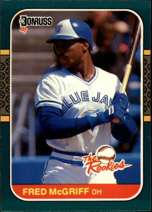 1987 Donruss Rookies #31 Fred McGriff