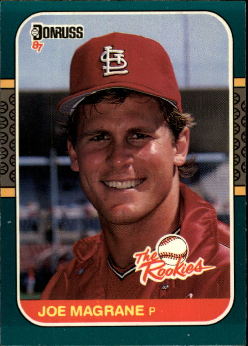 1987 Donruss Rookies #40 Joe Magrane XRC