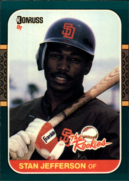 1987 Donruss Rookies #43 Stan Jefferson