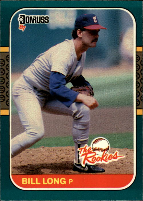 1987 Donruss Rookies #48 Bill Long