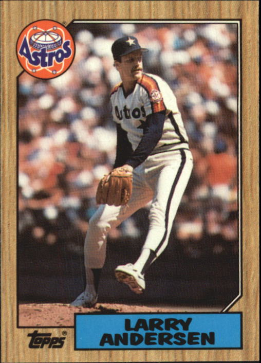 1987 Topps Tiffany #503 Larry Andersen