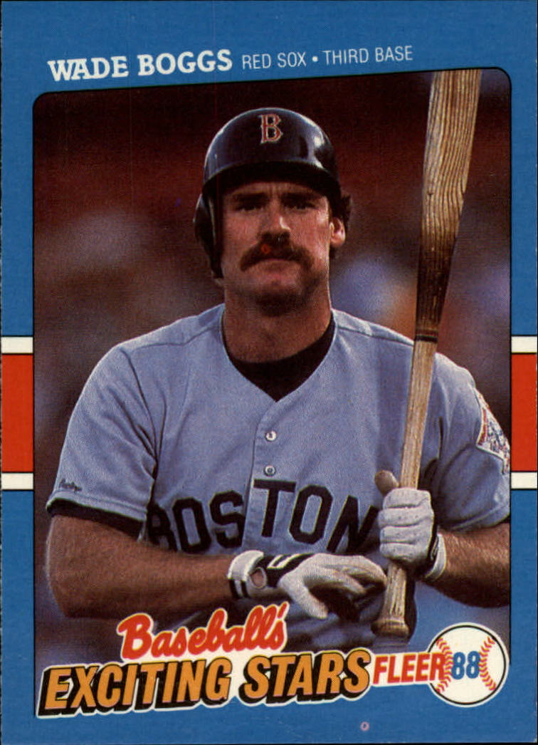 1988 Fleer Exciting Stars #4 Wade Boggs