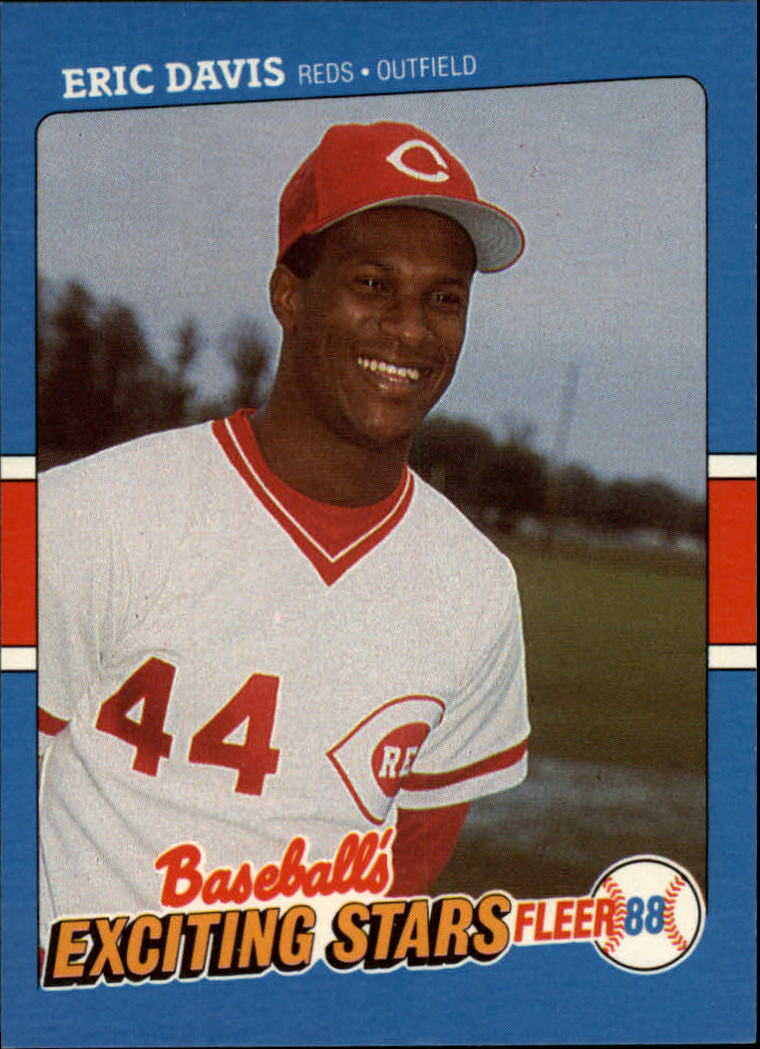 1988 Fleer Exciting Stars #12 Eric Davis