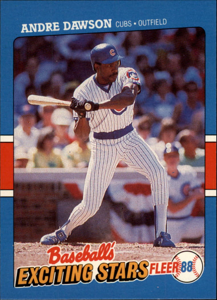 1988 Fleer Exciting Stars #13 Andre Dawson