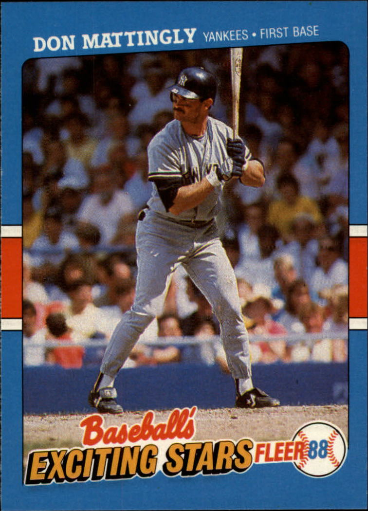 1988 Fleer Exciting Stars #25 Don Mattingly