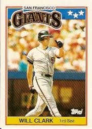 1988 Topps UK Minis #14 Will Clark