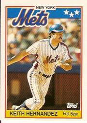 1988 Topps UK Minis #33 Keith Hernandez