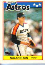 1988 Topps UK Minis #62 Nolan Ryan