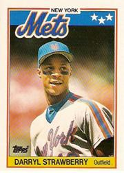 1988 Topps UK Minis #76 Darryl Strawberry