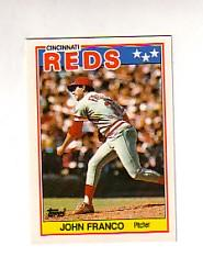 1988 Topps UK Minis Tiffany #24 John Franco