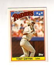 1988 Topps UK Minis Tiffany #29 Tony Gwynn
