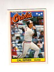 1988 Topps UK Minis Tiffany #61 Cal Ripken