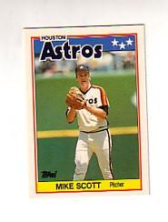 1988 Topps UK Minis Tiffany #68 Mike Scott
