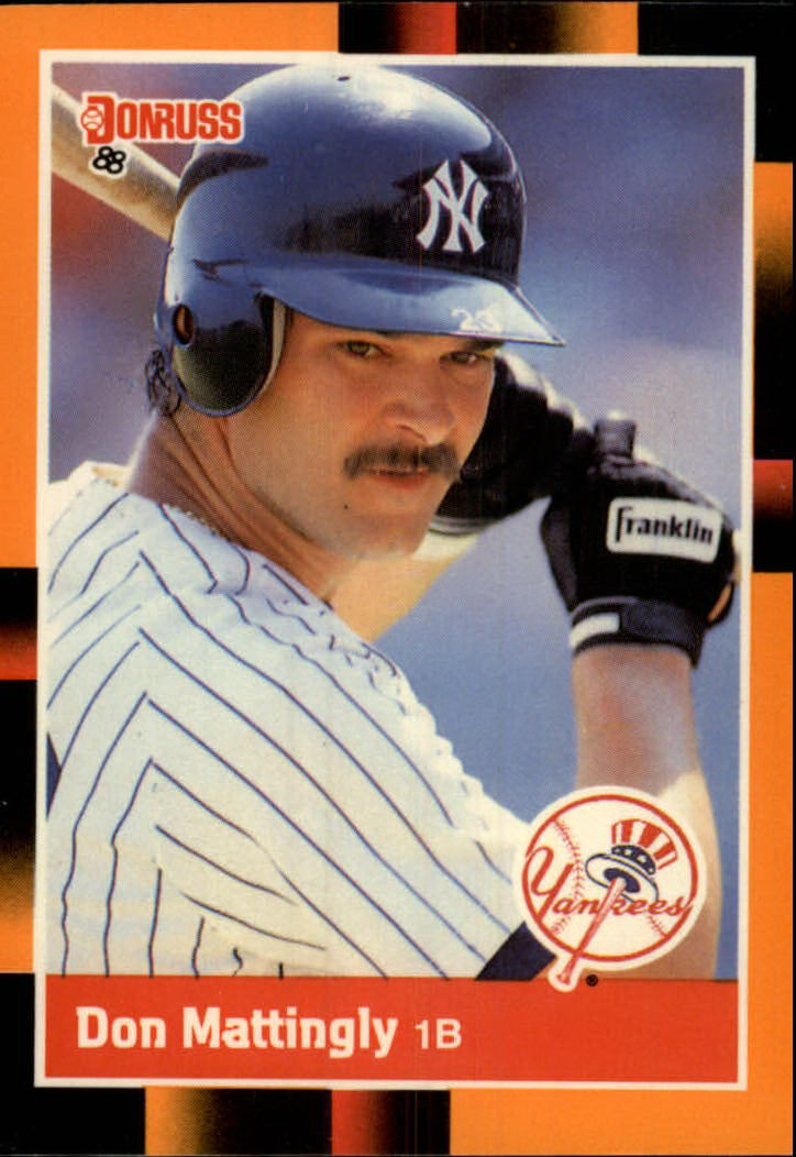 1988 Donruss Baseball's Best #1 Don Mattingly