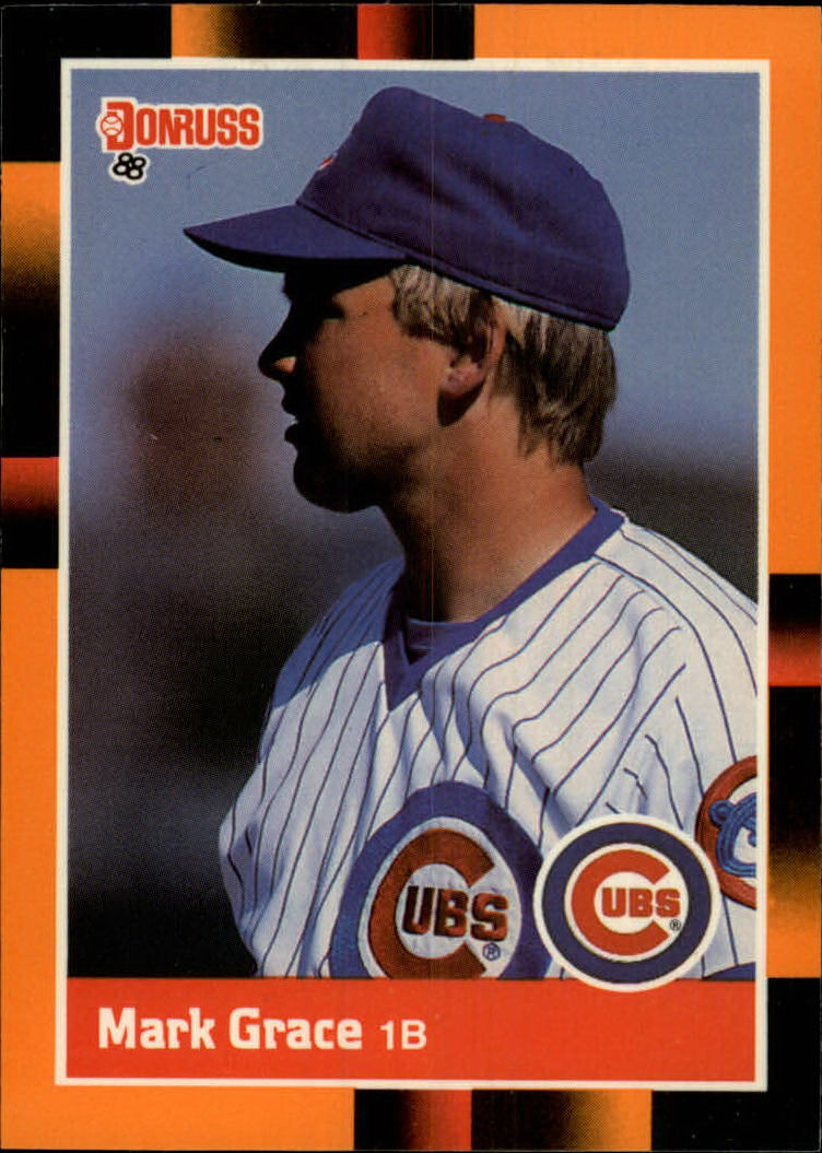 1988 Donruss Baseball's Best #4 Mark Grace