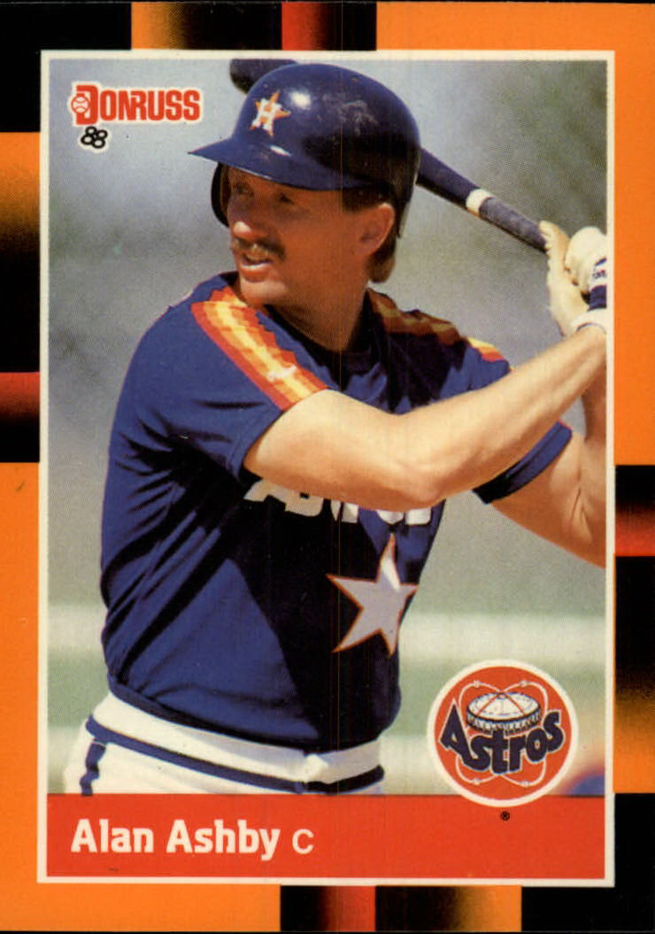 1988 Donruss Baseball's Best #8 Alan Ashby
