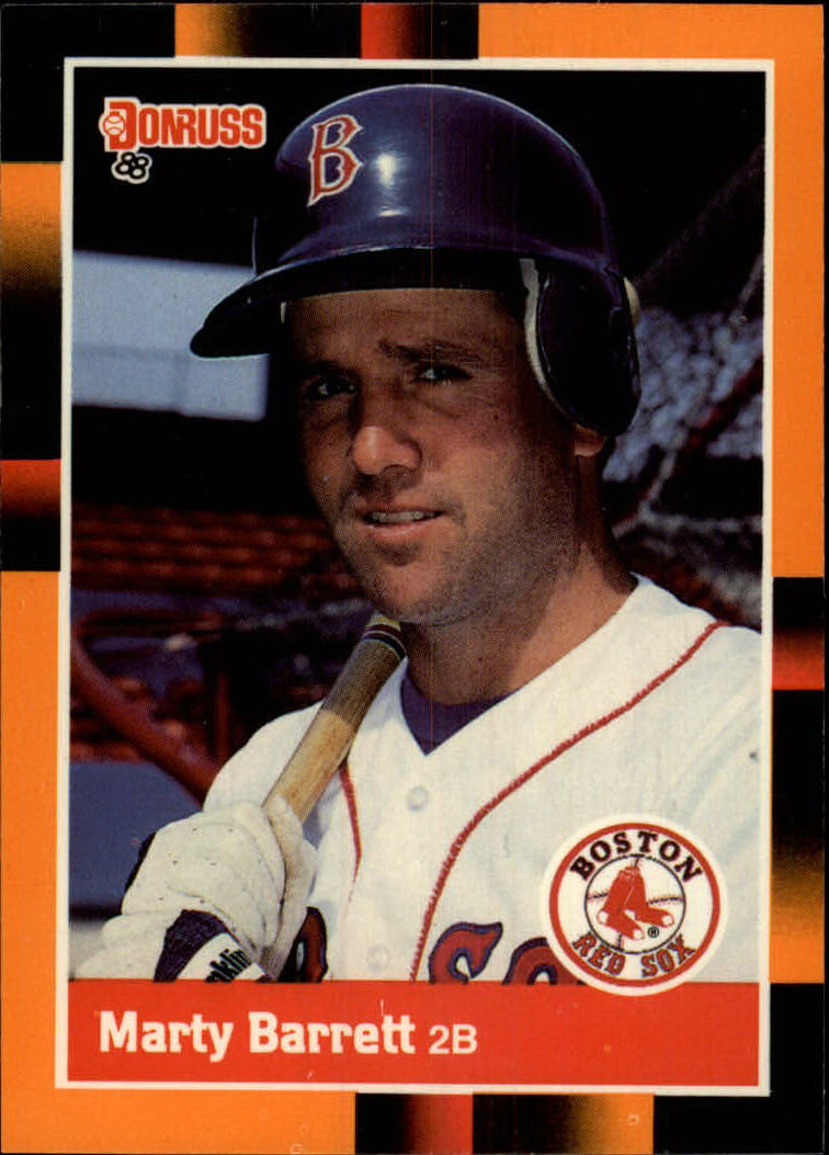 1988 Donruss Baseball's Best #9 Marty Barrett