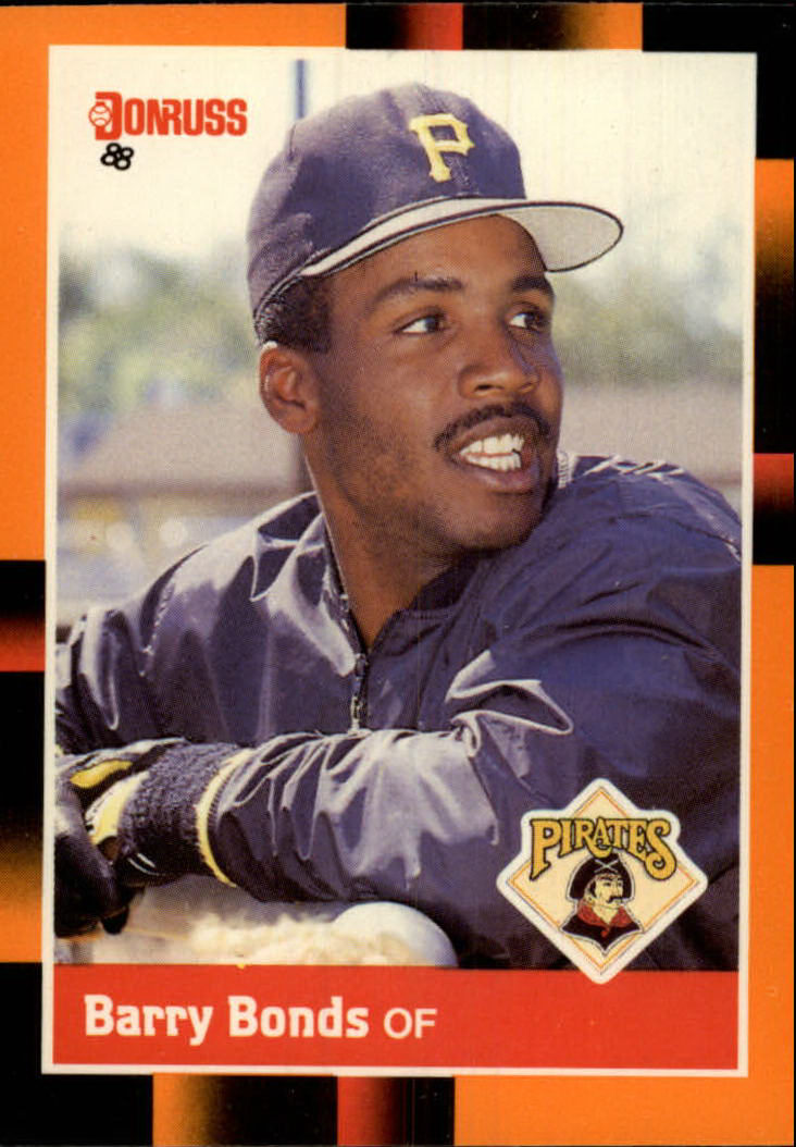 1988 Donruss Baseball's Best #17 Barry Bonds