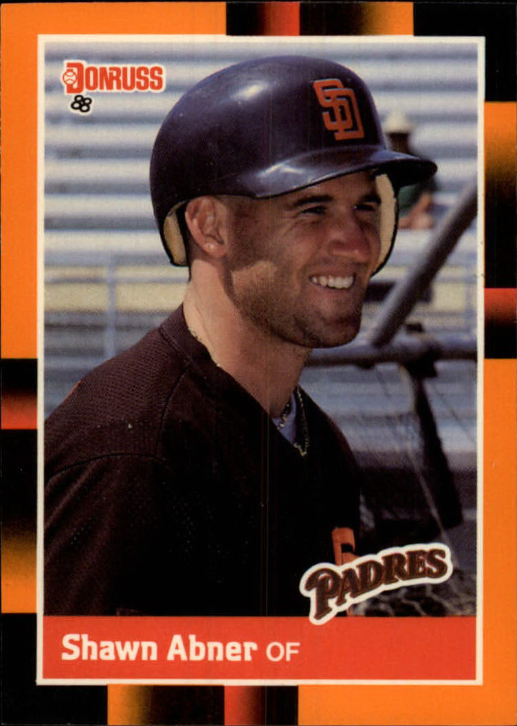 1988 Donruss Baseball's Best #21 Shawn Abner