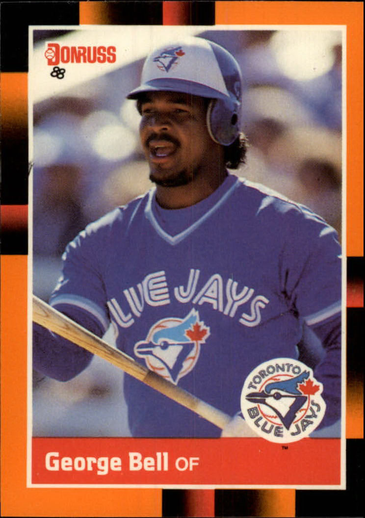 1988 Donruss Baseball's Best #31 George Bell