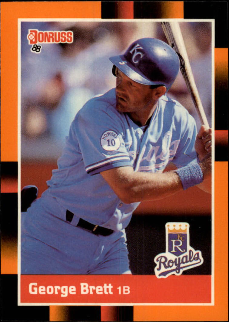 1988 Donruss Baseball's Best #39 George Brett