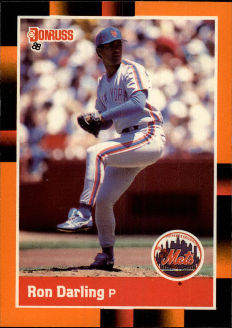 1988 Donruss Baseball's Best #41 Ron Darling