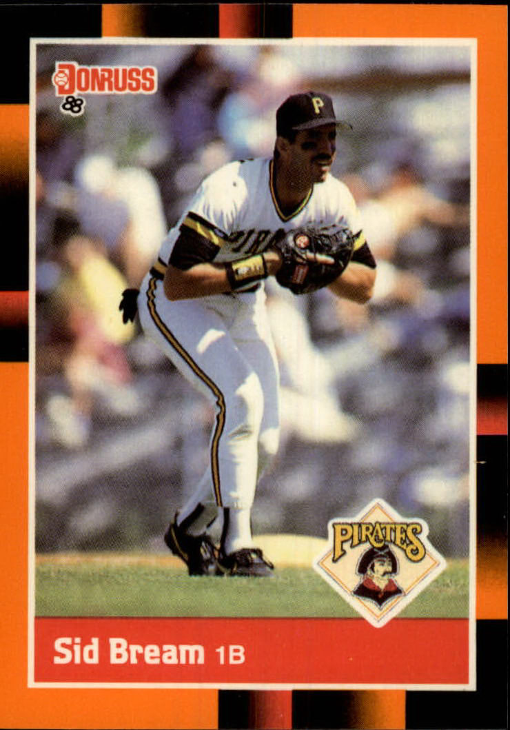 1988 Donruss Baseball's Best #45 Sid Bream