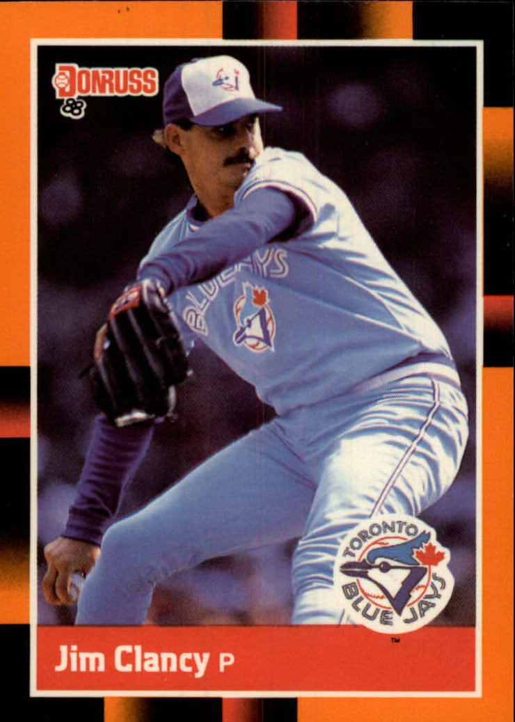 1988 Donruss Baseball's Best #48 Jim Clancy