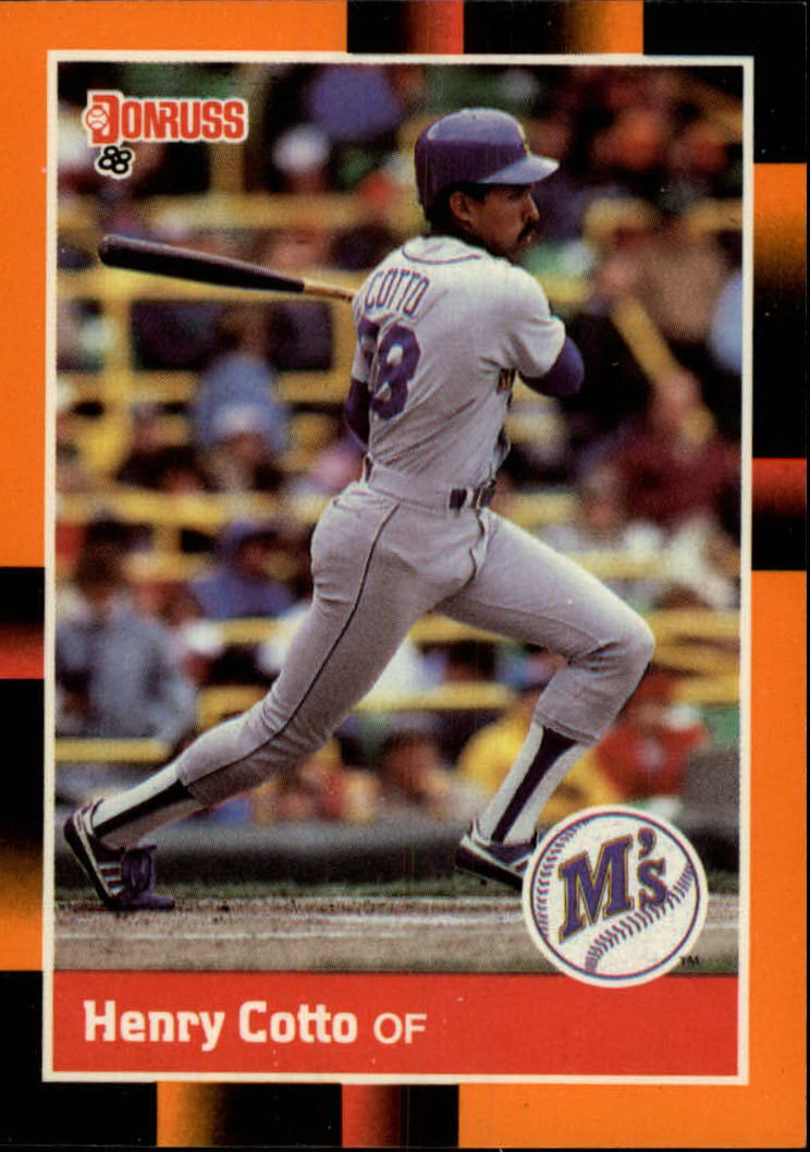 1988 Donruss Baseball's Best #51 Henry Cotto