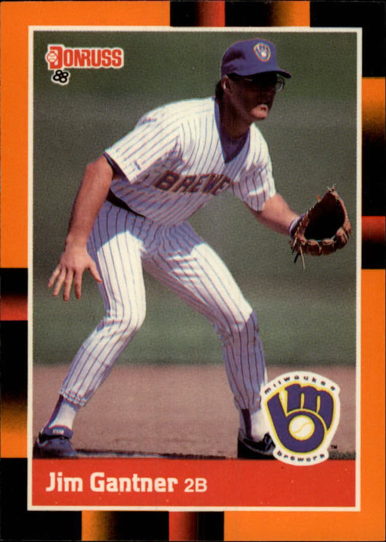1988 Donruss Baseball's Best #53 Jim Gantner