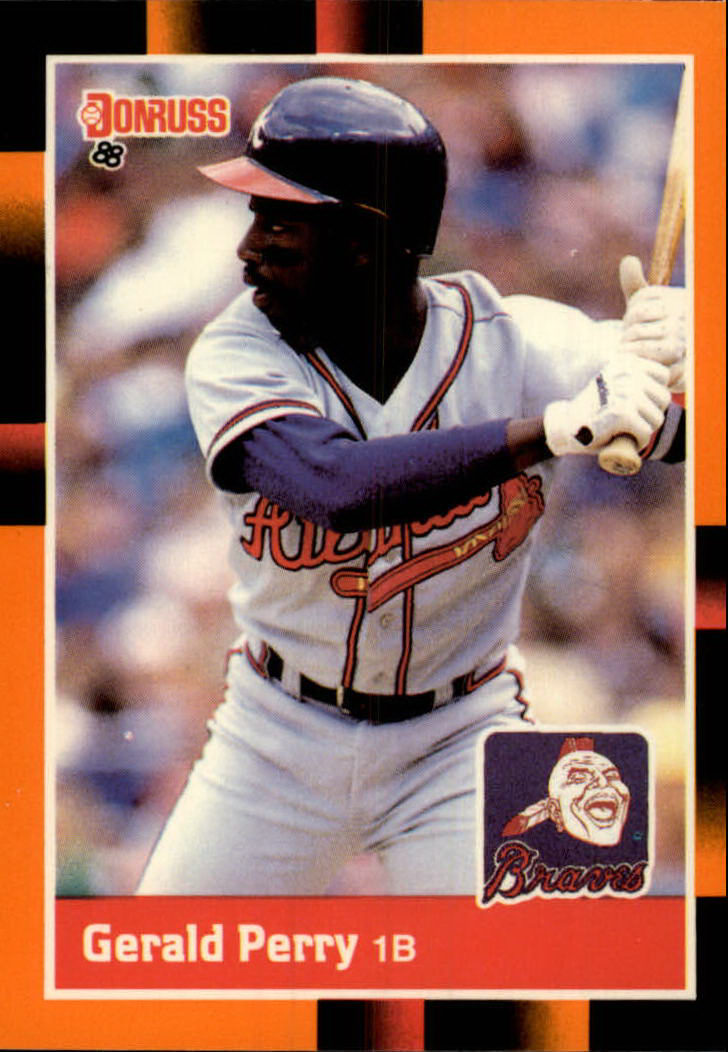 1988 Donruss Baseball's Best #58 Gerald Perry