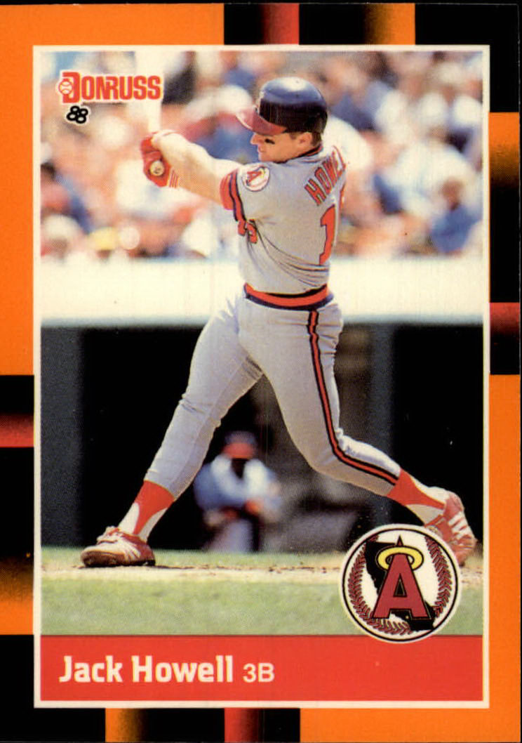 1988 Donruss Baseball's Best #59 Jack Howell