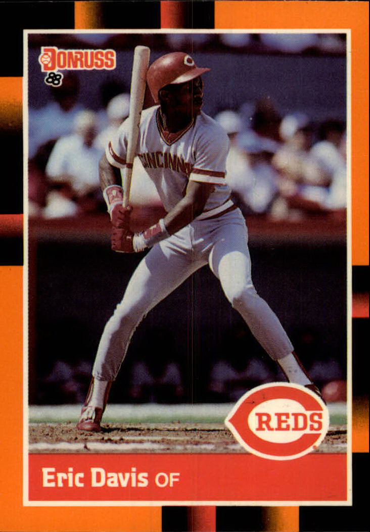 1988 Donruss Baseball's Best #62 Eric Davis