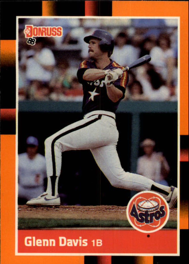 1988 Donruss Baseball's Best #64 Glenn Davis