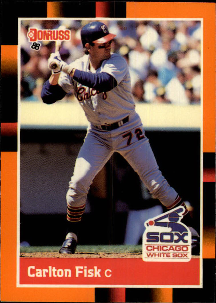 1988 Donruss Baseball's Best #67 Carlton Fisk