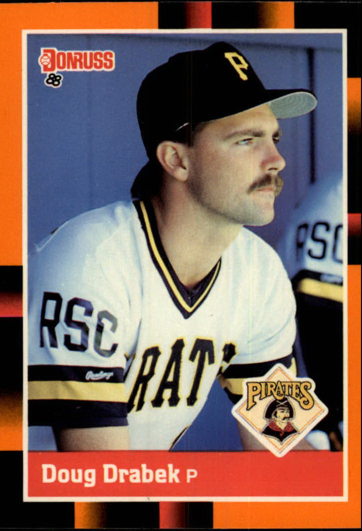 1988 Donruss Baseball's Best #73 Doug Drabek