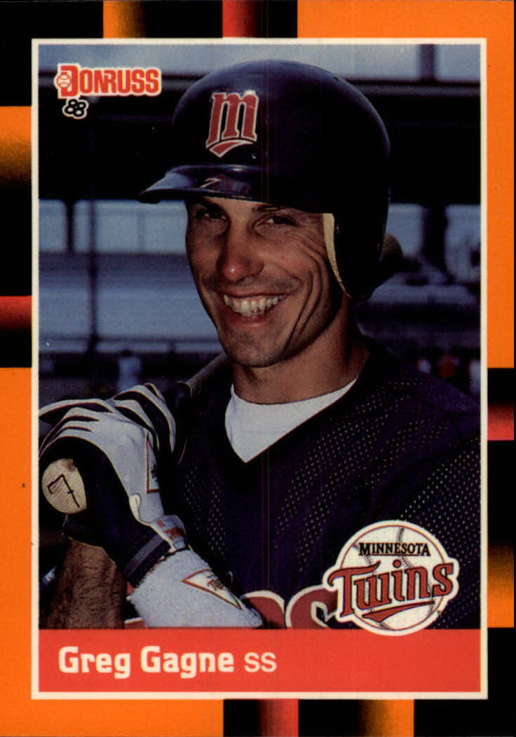 1988 Donruss Baseball's Best #74 Greg Gagne