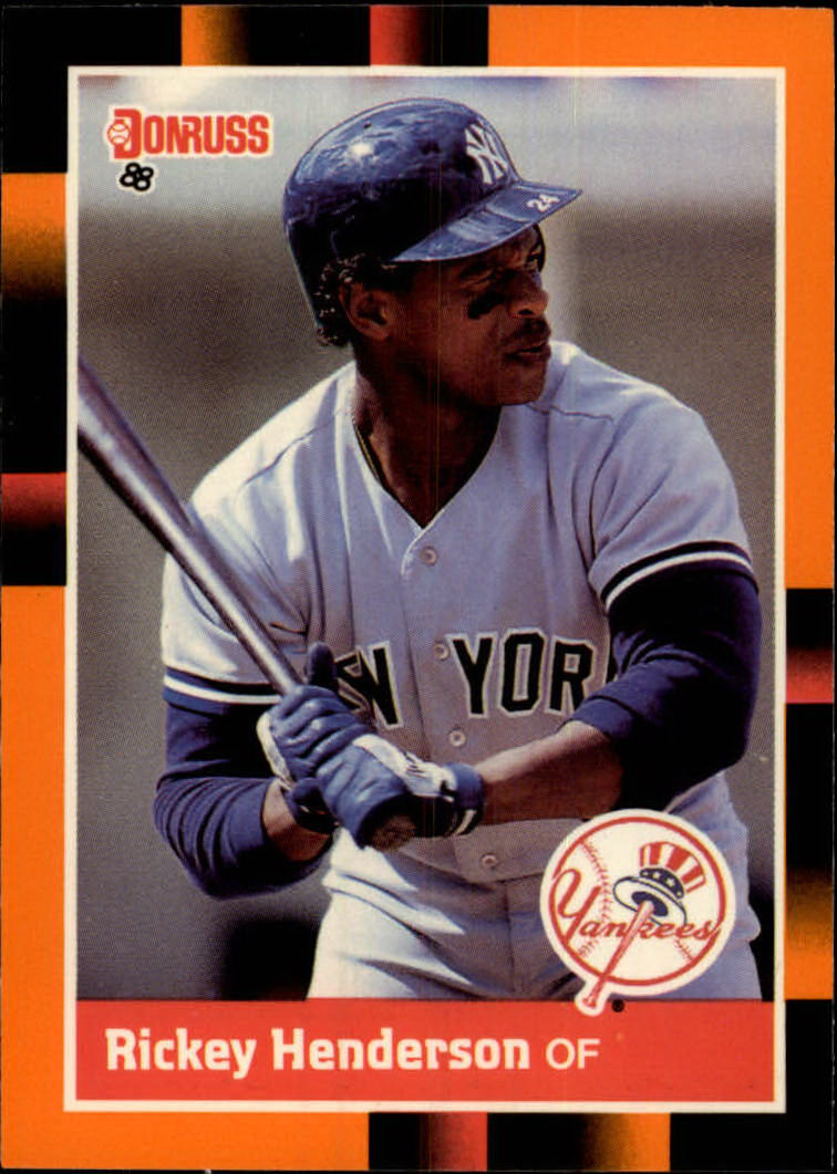 1988 Donruss Baseball's Best #76 Rickey Henderson