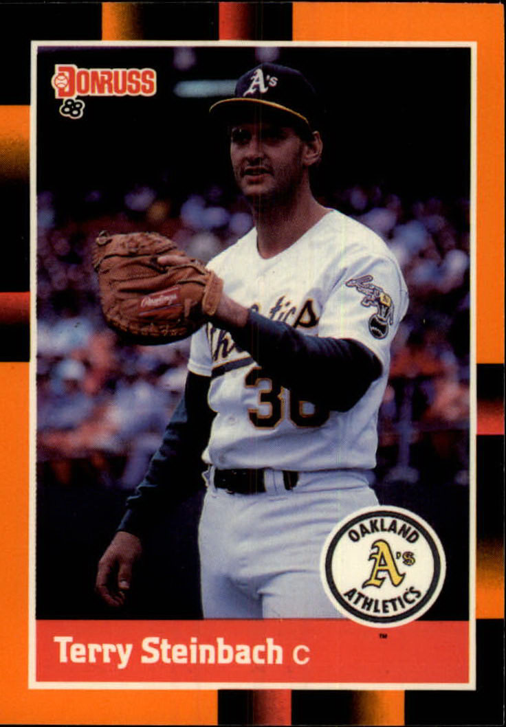1988 Donruss Baseball's Best #78 Terry Steinbach