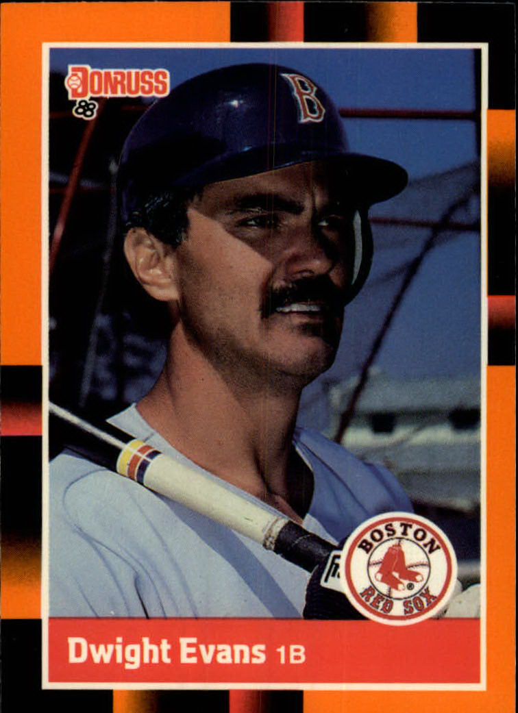 1988 Donruss Baseball's Best #84 Dwight Evans