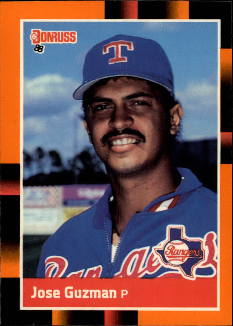 1988 Donruss Baseball's Best #88 Jose Guzman