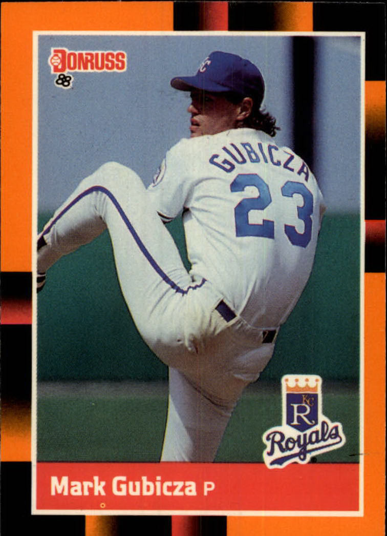 1988 Donruss Baseball's Best #95 Mark Gubicza
