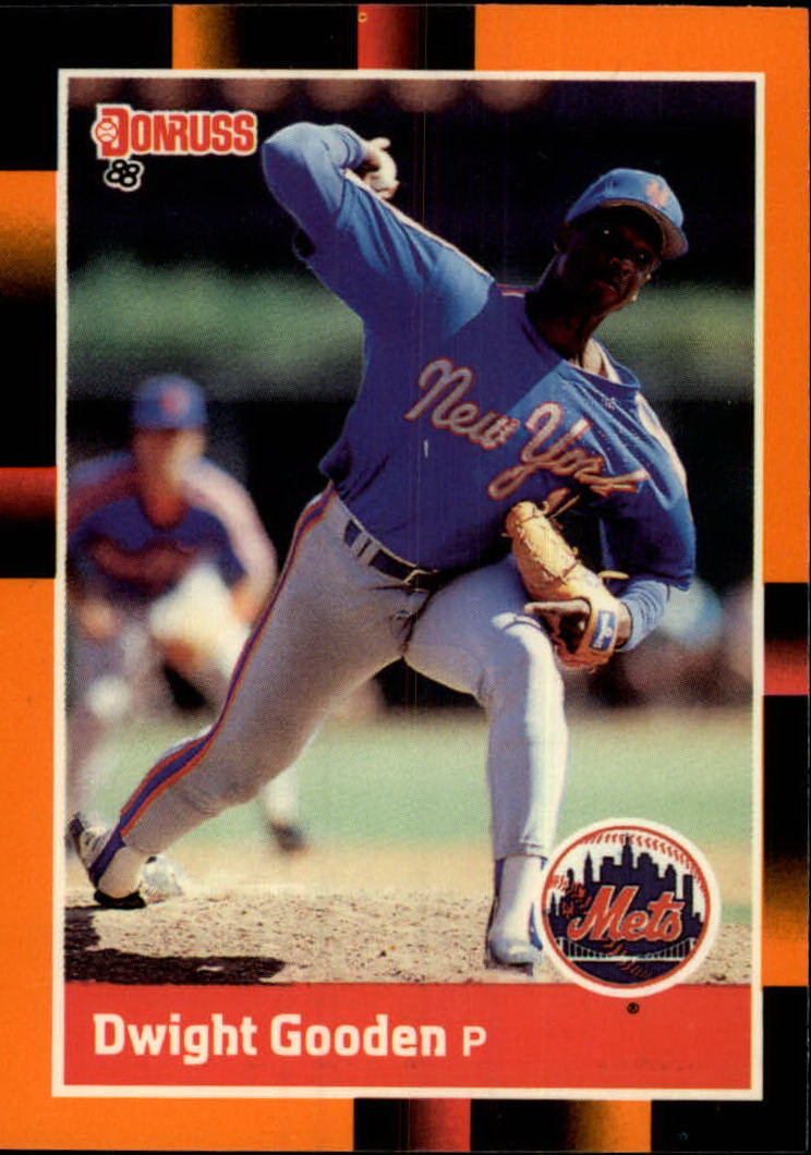 1988 Donruss Baseball's Best #96 Dwight Gooden