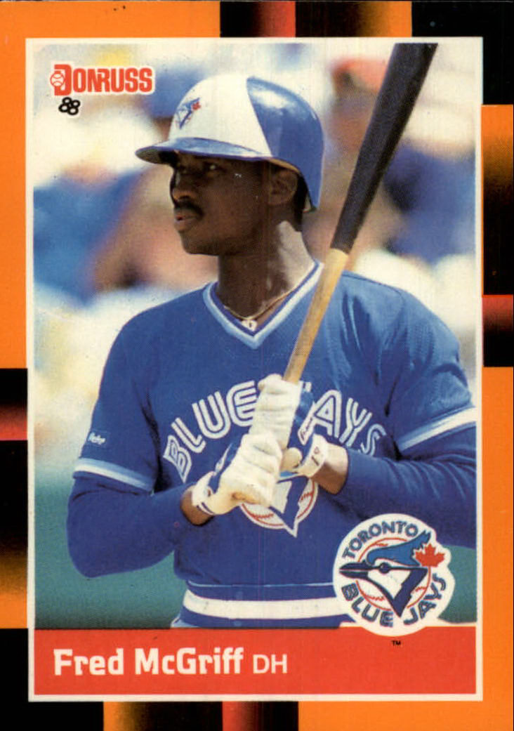 1988 Donruss Baseball's Best #160 Fred McGriff