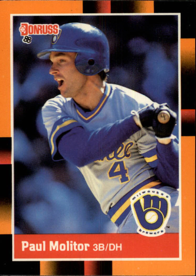 1988 Donruss Baseball's Best #165 Paul Molitor