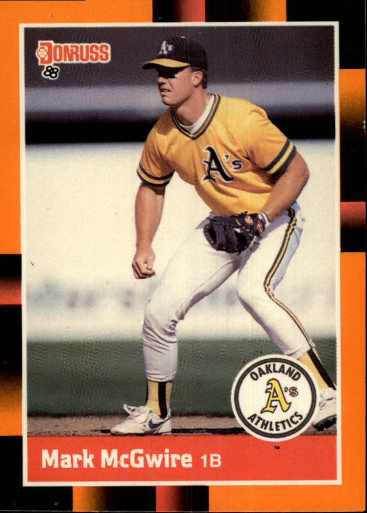1988 Donruss Baseball's Best #169 Mark McGwire