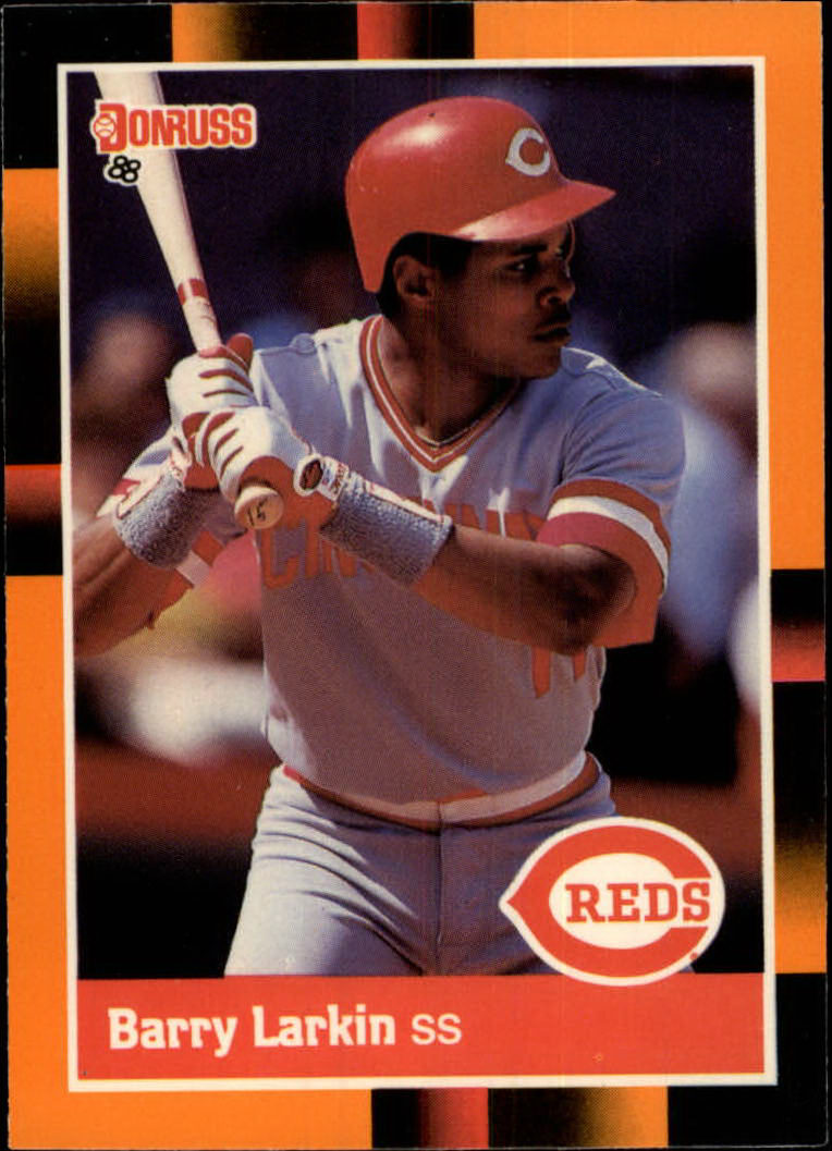 1988 Donruss Baseball's Best #222 Barry Larkin