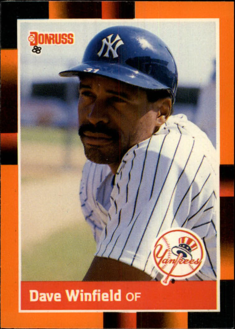 1988 Donruss Baseball's Best #244 Dave Winfield