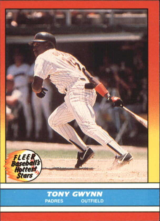 1988 Fleer Hottest Stars #15 Tony Gwynn