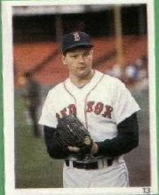 1988 Red Foley Sticker Book #13 Roger Clemens